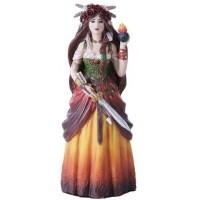 Brigid Celtic Goddess Statue