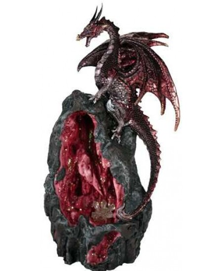 Red Dragon Backflow Incense Burner