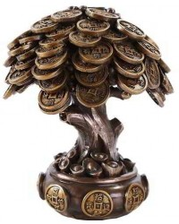 Money Tree Auspicious Feng Shui Statue Mystic Convergence Metaphysical Supplies Metaphysical Supplies, Pagan Jewelry, Witchcraft Supply, New Age Spiritual Store