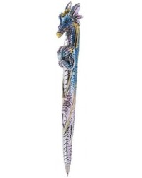 Ice Dragon Refillable Ball Point Pen Mystic Convergence Metaphysical Supplies Metaphysical Supplies, Pagan Jewelry, Witchcraft Supply, New Age Spiritual Store