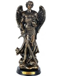 Archangel Jehudiel Bronze Christian Statue Mystic Convergence Metaphysical Supplies Metaphysical Supplies, Pagan Jewelry, Witchcraft Supply, New Age Spiritual Store