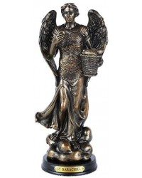 Archangel St Barachiel Bronze Christian Statue Mystic Convergence Metaphysical Supplies Metaphysical Supplies, Pagan Jewelry, Witchcraft Supply, New Age Spiritual Store