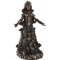 Danu Bronze Celtic Goddess Statue by Derek Frost