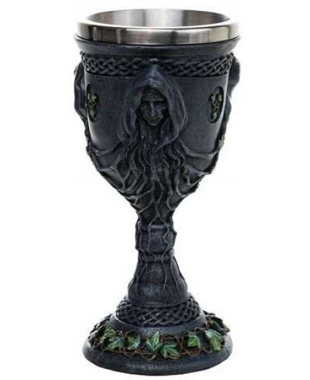 Mother, Maiden, Crone Triple Goddess Goblet at Mystic Convergence Metaphysical Supplies, Metaphysical Supplies, Pagan Jewelry, Witchcraft Supply, New Age Spiritual Store