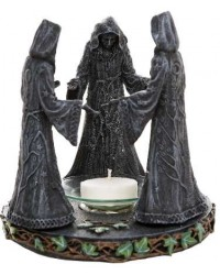 Mother, Maiden, Crone Triple Goddess Candle Holder Mystic Convergence Metaphysical Supplies Metaphysical Supplies, Pagan Jewelry, Witchcraft Supply, New Age Spiritual Store