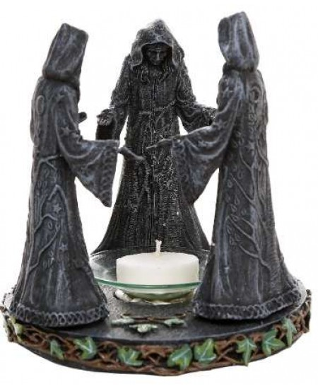 Mother, Maiden, Crone Triple Goddess Candle Holder at Mystic Convergence Metaphysical Supplies, Metaphysical Supplies, Pagan Jewelry, Witchcraft Supply, New Age Spiritual Store
