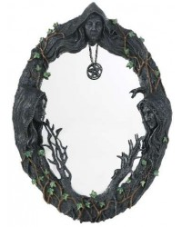 Mother Maiden Crone Wall Mirror Mystic Convergence Metaphysical Supplies Metaphysical Supplies, Pagan Jewelry, Witchcraft Supply, New Age Spiritual Store