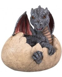 Garden Dragon Egg Statue Mystic Convergence Metaphysical Supplies Metaphysical Supplies, Pagan Jewelry, Witchcraft Supply, New Age Spiritual Store