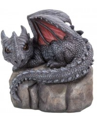 Garden Dragon on Rock Statue Mystic Convergence Metaphysical Supplies Metaphysical Supplies, Pagan Jewelry, Witchcraft Supply, New Age Spiritual Store