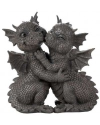 Garden Dragon Loving Couple Statue Mystic Convergence Metaphysical Supplies Metaphysical Supplies, Pagan Jewelry, Witchcraft Supply, New Age Spiritual Store