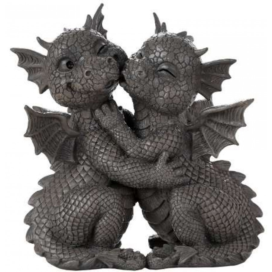 Garden Dragon Loving Couple Statue At Mystic Convergence Magical Supplies,  Wiccan Supplies, Pagan Jewelry