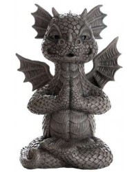 Garden Dragon Yoga Statue Mystic Convergence Metaphysical Supplies Metaphysical Supplies, Pagan Jewelry, Witchcraft Supply, New Age Spiritual Store