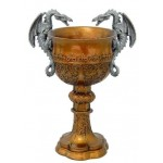 Double Dragon Golden Chalice at Mystic Convergence Magical Supplies, Wiccan Supplies, Pagan Jewelry, Witchcraft Supplies, New Age Store