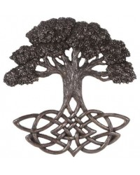 Tree of Life Celtic Knot Bronze Plaque Mystic Convergence Metaphysical Supplies Metaphysical Supplies, Pagan Jewelry, Witchcraft Supply, New Age Spiritual Store