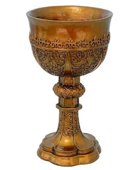 King Arthur Golden Chalice at Mystic Convergence, Wiccan Supplies, Pagan Jewelry, Witchcraft Supplies, New Age Store