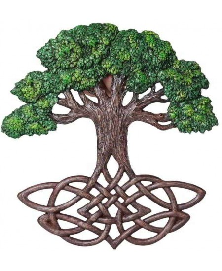 Tree of Life Celtic Knot Wall Plaque at Mystic Convergence Metaphysical Supplies, Metaphysical Supplies, Pagan Jewelry, Witchcraft Supply, New Age Spiritual Store