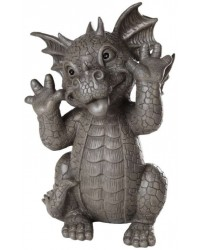 Taunting Dragon Garden Statue Mystic Convergence Metaphysical Supplies Metaphysical Supplies, Pagan Jewelry, Witchcraft Supply, New Age Spiritual Store
