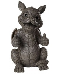 Thumbs Up Dragon Garden Statue Mystic Convergence Metaphysical Supplies Metaphysical Supplies, Pagan Jewelry, Witchcraft Supply, New Age Spiritual Store
