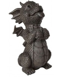 Happy Dragon Garden Statue Mystic Convergence Metaphysical Supplies Metaphysical Supplies, Pagan Jewelry, Witchcraft Supply, New Age Spiritual Store