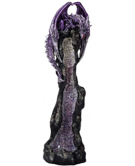Dragon Geode Tower Incense Holder at Mystic Convergence Metaphysical Supplies, Metaphysical Supplies, Pagan Jewelry, Witchcraft Supply, New Age Spiritual Store