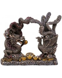Oriental Dragon and Phoenix Feng Shui Statue Mystic Convergence Metaphysical Supplies Metaphysical Supplies, Pagan Jewelry, Witchcraft Supply, New Age Spiritual Store