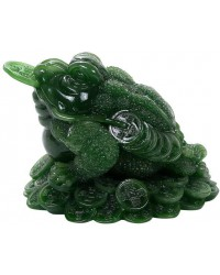 Lucky Frog Jade Green Feng Shui Money Statue Mystic Convergence Metaphysical Supplies Metaphysical Supplies, Pagan Jewelry, Witchcraft Supply, New Age Spiritual Store
