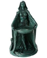 Danu Celtic Goddess Resin 16 Inch Statue Mystic Convergence Metaphysical Supplies Metaphysical Supplies, Pagan Jewelry, Witchcraft Supply, New Age Spiritual Store