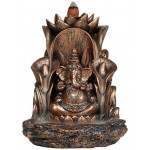 Ganesha Backflow Incense Burner at Mystic Convergence Metaphysical Supplies, Metaphysical Supplies, Pagan Jewelry, Witchcraft Supply, New Age Spiritual Store