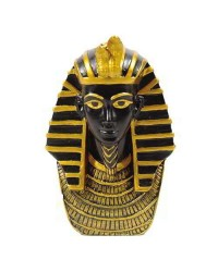 King Tut Bust Mini Egyptian Statue Mystic Convergence Metaphysical Supplies Metaphysical Supplies, Pagan Jewelry, Witchcraft Supply, New Age Spiritual Store