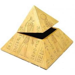 pyramid of the gods egyptian trinket box