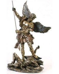 Archangel St Michael 10 Inch Statue Mystic Convergence Metaphysical Supplies Metaphysical Supplies, Pagan Jewelry, Witchcraft Supply, New Age Spiritual Store