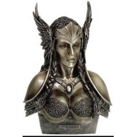 Valkyrie Norse Warrior Woman Statue