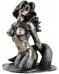 Sunsatiable Mermaid Statue by Monte Moore Mystic Convergence Metaphysical Supplies Metaphysical Supplies, Pagan Jewelry, Witchcraft Supply, New Age Spiritual Store