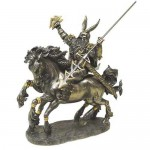 Odin on Horseback Norse God Bronze Statue at Mystic Convergence Metaphysical Supplies, Metaphysical Supplies, Pagan Jewelry, Witchcraft Supply, New Age Spiritual Store