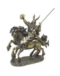 Odin on Horseback Norse God Bronze Statue Mystic Convergence Metaphysical Supplies Metaphysical Supplies, Pagan Jewelry, Witchcraft Supply, New Age Spiritual Store