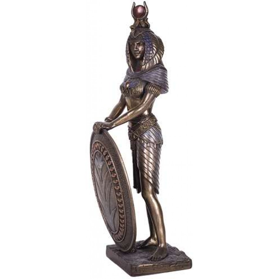 Isis Egyptian Warrior Goddess 11 Inch Statue Ancient
