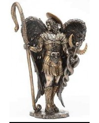 Archangel Raphael Healing Bronze Resin Statue Mystic Convergence Metaphysical Supplies Metaphysical Supplies, Pagan Jewelry, Witchcraft Supply, New Age Spiritual Store