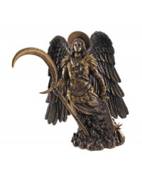 Archangel Gabriel Bronze Statue by Derek W Frost Mystic Convergence Metaphysical Supplies Metaphysical Supplies, Pagan Jewelry, Witchcraft Supply, New Age Spiritual Store