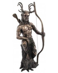 Herne the Hunter Horned Forest God Statue Mystic Convergence Metaphysical Supplies Metaphysical Supplies, Pagan Jewelry, Witchcraft Supply, New Age Spiritual Store