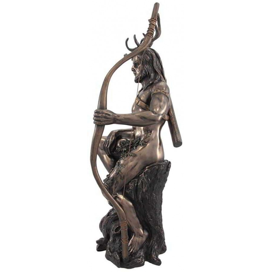 Herne the hunter horned forest god statue herne the hunter horned forest god statue at mystic convergence wiccan supplies pagan jewelry biocorpaavc Choice Image