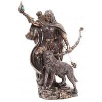 Skadi Norse Goddess of Winter Bronze Resin Statue