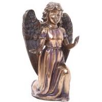 Adoring Angel Bronze Resin Statue