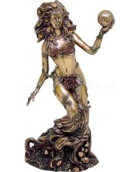 Gaia, Mother Earth Bronze Statue Mystic Convergence Metaphysical Supplies Metaphysical Supplies, Pagan Jewelry, Witchcraft Supply, New Age Spiritual Store
