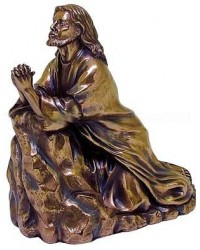 Jesus in Prayer Bronze Christian Statue Mystic Convergence Metaphysical Supplies Metaphysical Supplies, Pagan Jewelry, Witchcraft Supply, New Age Spiritual Store