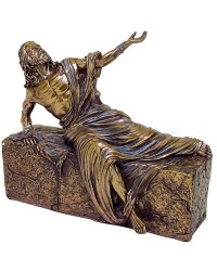 Jesus, He is Risen Bronze Christian Statue Mystic Convergence Metaphysical Supplies Metaphysical Supplies, Pagan Jewelry, Witchcraft Supply, New Age Spiritual Store