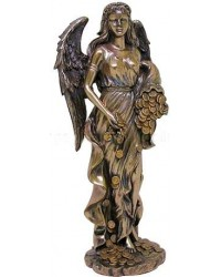 Lady Fortuna Greek Goddess Bronze Statue Mystic Convergence Metaphysical Supplies Metaphysical Supplies, Pagan Jewelry, Witchcraft Supply, New Age Spiritual Store