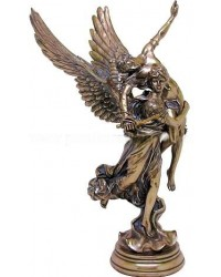 Pheme, Winged Fame Greek Goddess Bronze Statue Mystic Convergence Metaphysical Supplies Metaphysical Supplies, Pagan Jewelry, Witchcraft Supply, New Age Spiritual Store
