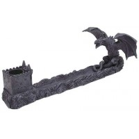 Castle Dragon Incense Burner