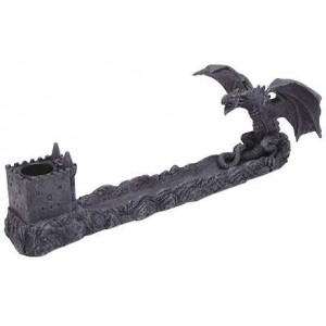 Castle Dragon Incense Burner Mystic Convergence Wiccan Supplies, Pagan Jewelry, Witchcraft Supplies, New Age Store