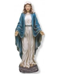 Our Lady of Grace Mary Christian Statue Mystic Convergence Metaphysical Supplies Metaphysical Supplies, Pagan Jewelry, Witchcraft Supply, New Age Spiritual Store